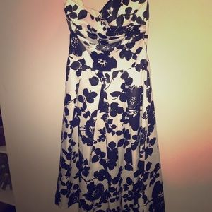 Strapless dress size 6 by After Six